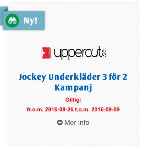 rabattkoder från Uppercut